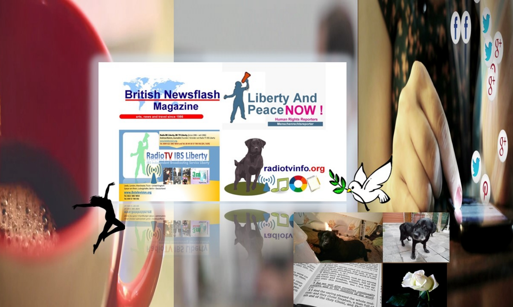 British Newsflash Magazine - Liberty and Peace NOW - IBS Television Liberty